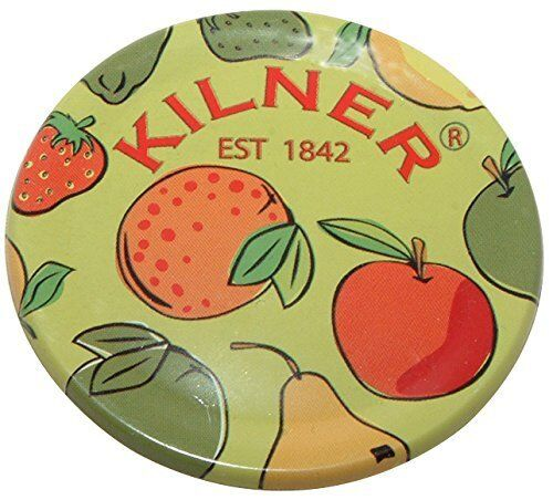 KILNER Fruits Preserve Lid Discs Jam Jar Seals for Home Made Air Tight 12 Pack