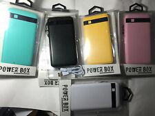 ORIGINAL 9000mAh Portable External 2 USB POWER BANK Battery Charger iPHONE SAMSU