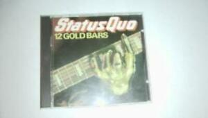 Status-Quo-12-Gold-Bars-CD-Value-Guaranteed-from-eBay-s-biggest-seller