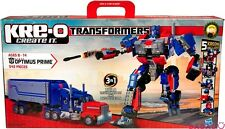 KRE-O TRANSFORMERS 542 PCS OPTIMUS PRIME 30689 ROBOT TRUCK BATTLE STATION KREONS