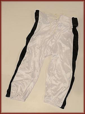 TEAMWORK 3327 INTEGRATED FOOTBALL PANT ADULT XL White// BLACK NEW!!!