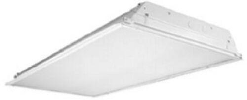 "Lay In 48/"" Fluorescent Light Fixture Metalux 2GR843 4 Light 32W F32T8 Recessed"