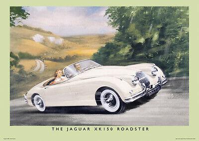 Plus E Type Mk2 XK150 XJS V-12 Jaguar 'E' Type 4.2 Coupe Poster Picture Print A1