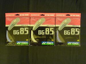 100% YONEX BG 85 badminton racquet string BG85