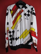 Veste cycliste Peugeot SMS Santini Ancien rétro 90'S Vintage - L