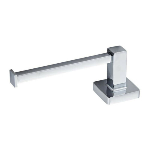Polished Toilet Roll Holder Bathroom Bar Wall Mounted Tissue Paper Stand Sj