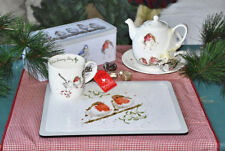 "Wrendale Royal Worcester Tasse ""One Snowy Day"""