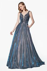 d4a5e7bb7eeb Image is loading Cinderella-Divine-CB0034-Evening-Dress-Prom-Dress -Glittered-