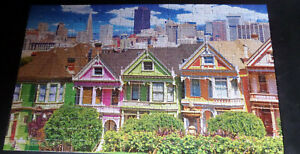 Puzzlebug Painted Ladies from Alamo Square San Francisco 300-piece Jigsaw Puzzle