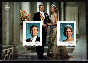Nederland-2019-Blokje-3678-Koning-Willem-Alexander-en-Koningin-Maxima