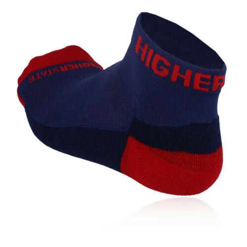 Higherstate Liberté Homme Femme Bleu Rouge Running Trainer Bracelet Chaussettes Pack de 3