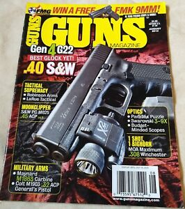Details about Guns Magazine Glock 22  40 S&W WWII Bolt-Action Rifles  308  Winchester Ballistic