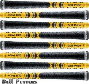 Eight-8-Golf-Pride-MCC-New-Decade-Multicompound-Yellow-Black-Std-Golf-Grips