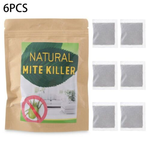 6//10PCS Natural Herbal Dust Mites Killer Anti-mite Pad Cushion Pest Control/_