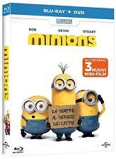 MINIONS - Come Tutto Ebbe Inizio (BLU-RAY + DVD) ANIMAZIONE DIGITALE UNIVERSAL