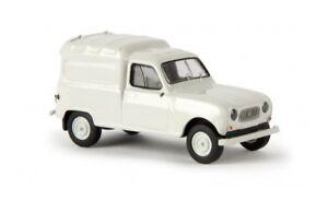 14712-Brekina-Renault-R4-Fourgonnette-lichtgrau-1-87