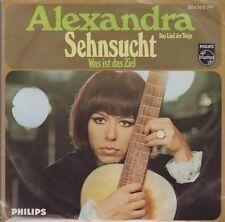 """Alexandra Sehnsucht (Das Lied der Taiga / Was ist das Ziel 60`s Philips 7"""""""