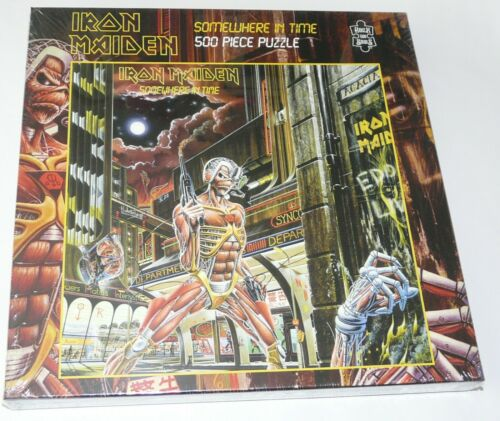 Iron Maiden Somewhere In Time LP Album Art Jigsaw Puzzle New Official