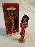 Hallmark Keepsake Chinese Barbie Dolls Of The World 1997 Chinese Christmas