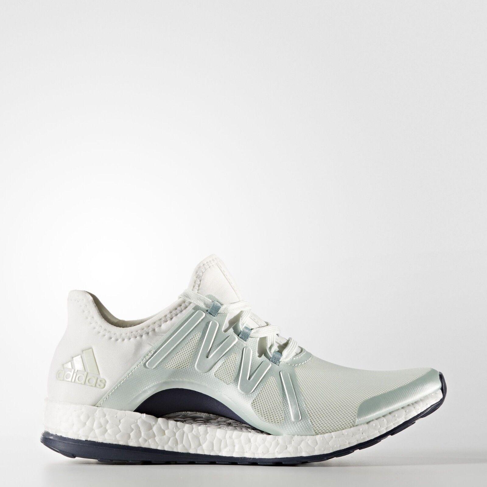 Adidas BB1732 Női Pureboost X POSE futócipő zöld, fehér szürke cipők