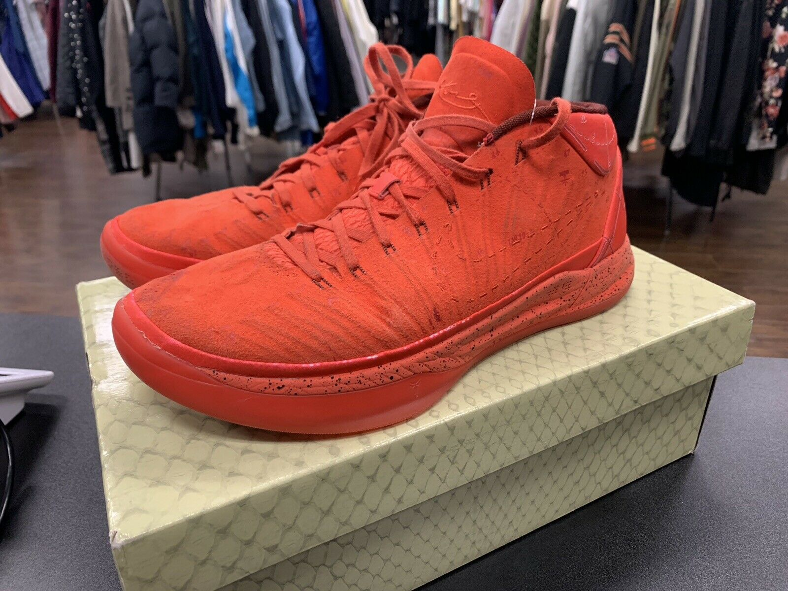NIKE KOBE AD A.D. HABAblack RED MAMBA MENTALITY PASSION [922482-600] [922482-600] [922482-600] Size 10.5 ee218d