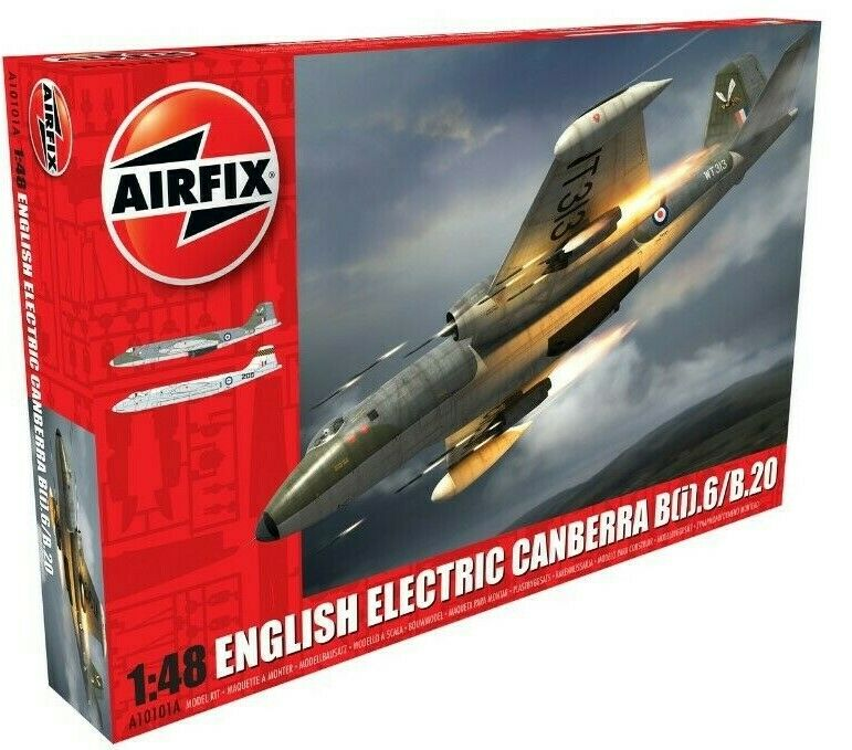 New Airfix 1 48th Scale English Electric Canberra B(i).6 B.20 Model Kit.