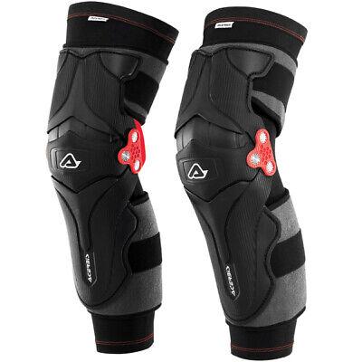 Acerbis Mx Gear X-Strong Kneeguards Motocross Dirt Bike BMX MTB Moto Knee Guards