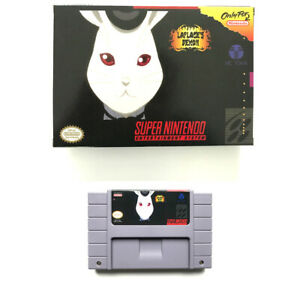 Laplace's Demon for snes game cartridge english translated