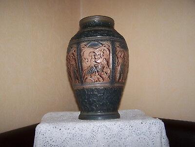 Hilfreich Sehr Schöne Vase Mit Mythischen Reliefs Von Jasba, Modell-nr. 1589-30 Um Jeden Preis