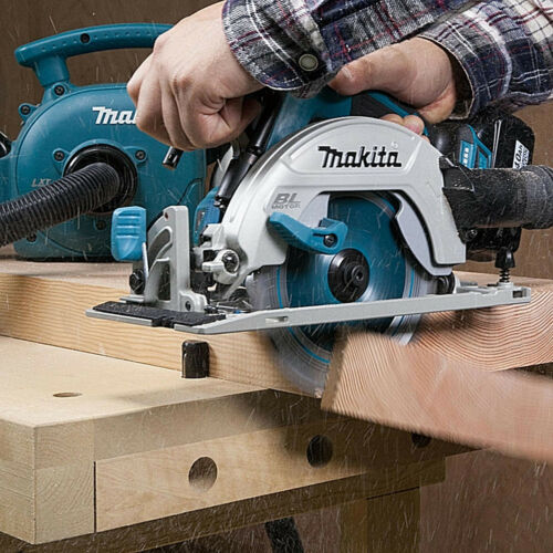 Makita DHS680Z 18 V LXT Brushless Scie Circulaire avec 1 x 5.0Ah Batterie BL1850