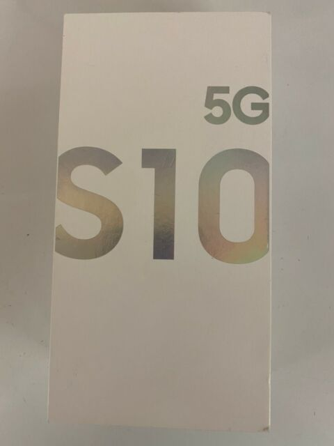 Samsung Galaxy S10 5G 256GB Crown Silver (Sprint Unlocked) New In BOX  Read Note