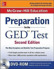 McGraw-Hill Education Preparation for the GED Test with DVD-ROM by...