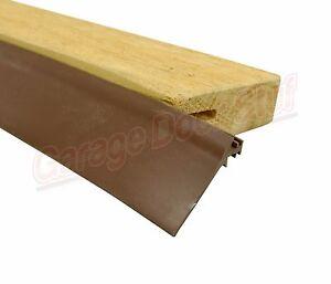 Custom Garage Door Trim Seal Wood Door Stop Insert Ebay
