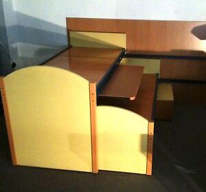 Cameretta per bambini DI LIDDO E PEREGO DOMINO 2 letti + scrivania ...