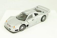 Maisto Mercedes CLK-GTR AMG Silver Model Sports Car 1:26 Diecast