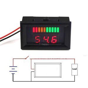 acid lead batterie anzeige kapazit t tester meter battery. Black Bedroom Furniture Sets. Home Design Ideas