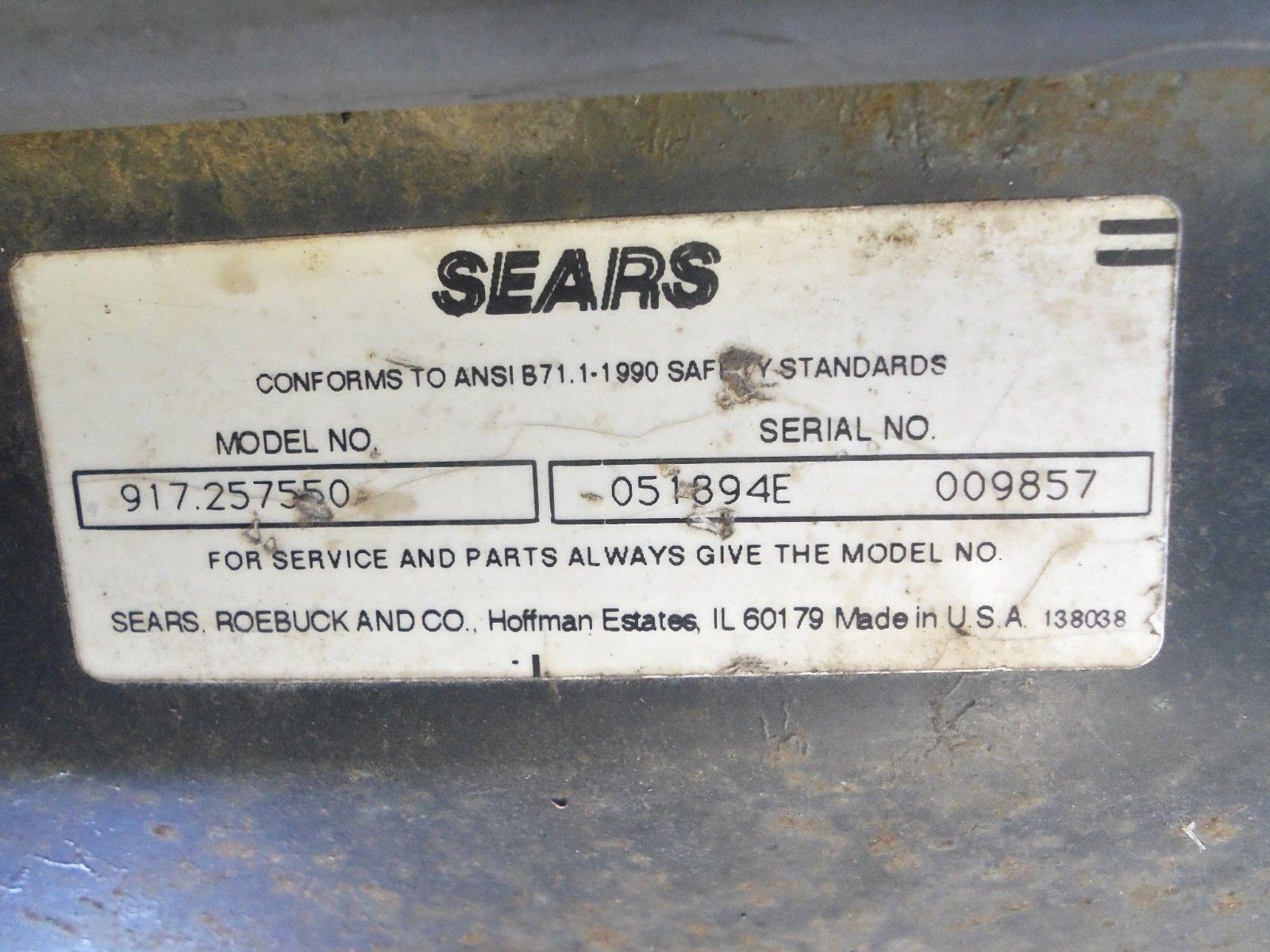 Craftsman 121472x 532150546 Steering Wheel Fits Lt4000 Ebay Wiring Diagram