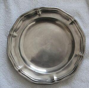 3006* plat christofle en métal argenté 19eme