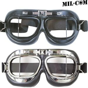 06492e0dc3eb MIL-COM RAF BLACK FLYERS GOGGLES KIDS ADULTS MILITARY PILOT FANCY ...