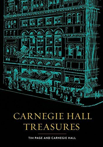 1 of 1 - Carnegie Hall Treasures by Tim Page  hardback 2010 Harper Collins GOOD CONDITION