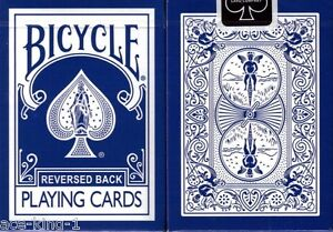 1-deck-Bicycle-Blue-Reverse-playing-cards-magic-poker
