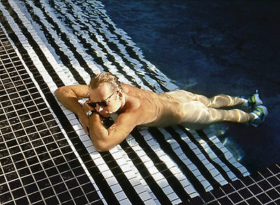 Bruce willis photo naked in color of night - 11x15 cm # 1