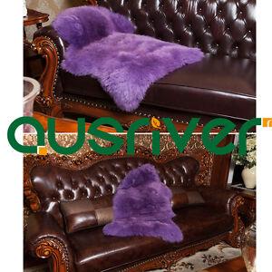 Premium Australia Sheepskin Long Wool Rug Mat Cushion Sofa