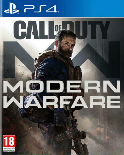 CALL OF DUTY MODERN WARFARE PS4 GIOCO NUOVO SIGILLATO PAL ITALIANO PLAYSTATION 4