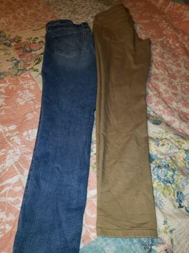 EUC! Lot of 2! Mossimo Jeans sz 10,Juniors.10/30L