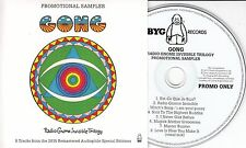 GONG Radio Gnome Invisible Trilogy Sampler 2015 UK 8-track promo only CD