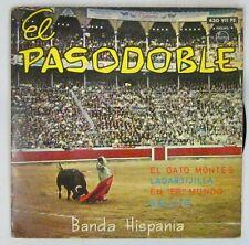 Tauromachie 45 tours Gran Banda Hispania El Pasodoble