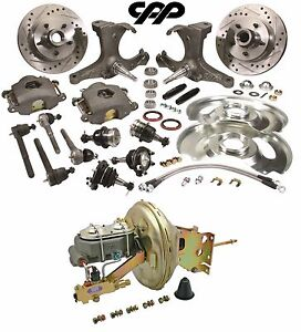 Details about 67-70 CHEVY C10 PICKUP TRUCK 5 LUG STOCK HEIGHT SPINDLE  BOOSTER CONVERSION