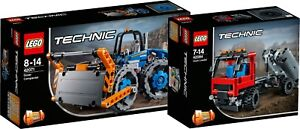 LEGO Technic 42071 42084 Kompaktor Le bulldozer Absetzkipper Hook Loader N1/18