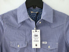 new ladies/girls LEE long sleeve cowboy style fitted shirt S small rrp £40